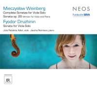 Druzhinin & Weinberg - Viola Sonatas