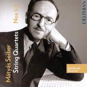 Mátyás Seiber - String Quartets Nos. 1-3 Product Image