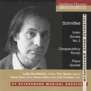 Schnittke: Violin Sonata No. 2 & Piano Quintet