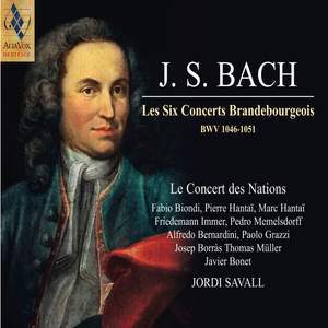 Bach - Les Six Concerts Brandenbourgeois Product Image