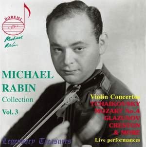 The Michael Rabin Collection, Volume 3