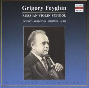 Taneyev: Violin Sonata