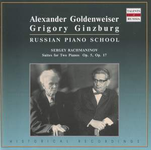Rachmaninov: Suites for Two Pianos
