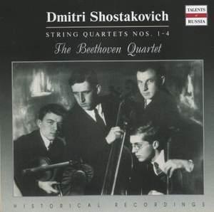 Shostakovich: String Quartet Nos. 1-4 Product Image