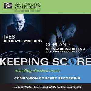 Michael Tilson Thomas conducts Copland & Ives