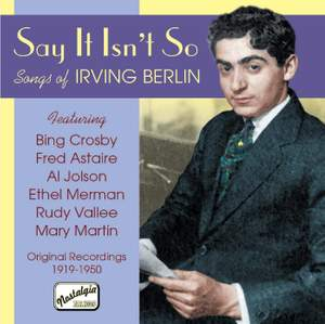 Say It Isn't So: Songs of Irving Berlin Product Image