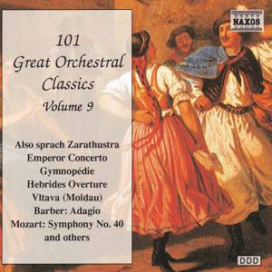 101 Great Orchestral Classics Vol. 9 Product Image
