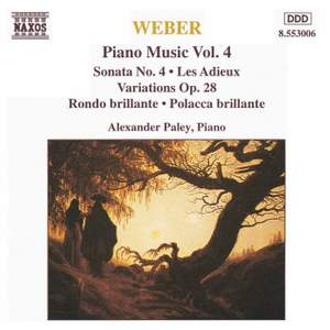 Weber: Piano Music Vol. 4