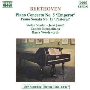 Beethoven: Piano Concerto No. 5 Product Image