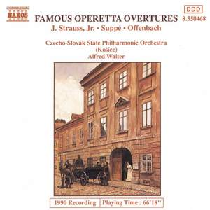 Famous Operetta Overtures Product Image