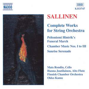 Sallinen: Complete Works for String Orchestra