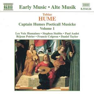 Tobias Hume: Captain Humes Poeticall Musicke Vol. 1 Product Image