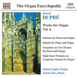 Dupré: Works for Organ Vol. 6