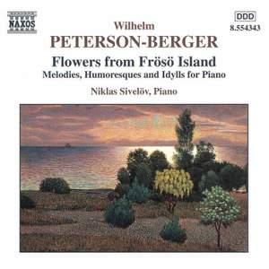 Peterson-Berger: Frösöblomster (Frösö Flowers) Books I, II & III