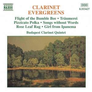 Clarinet Evergreens Product Image