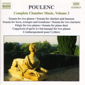 Poulenc: Complete Chamber Music Vol. 3