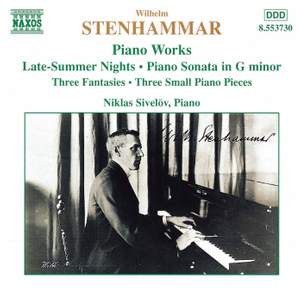 Stenhammar: Piano Works Product Image