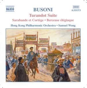 Busoni: Turandot Suite Product Image