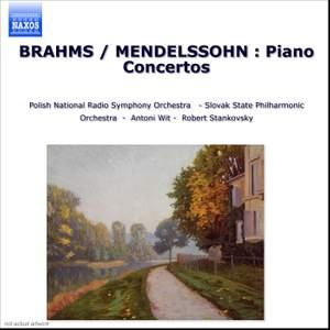Brahms & Mendelssohn: Piano Concertos Product Image