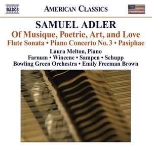 Samuel Adler: Of Musique, Poetrie, Art, & Love