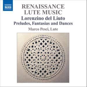 Lorenzino del Liuto: Renaissance Lute Music Product Image