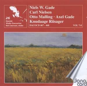 Danish Violin Concertos Volume 4