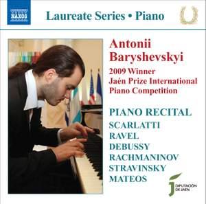 Piano Recital: Antonii Baryshevskyi