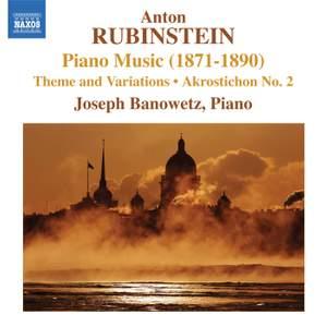Rubinstein: Piano Music Volume 1 (1871-1890)