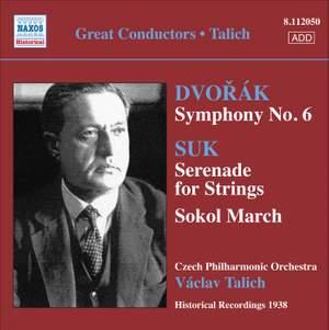 Václav Talich conducts Suk & Dvorak