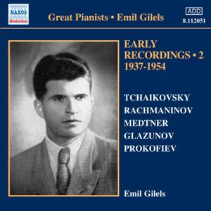 Emil Gilels: Early Recordings Volume 2