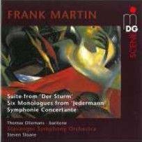 Martin - Suite from 'Der Sturm', Six Monologues from 'Jedermann' & Symphonie Concertante