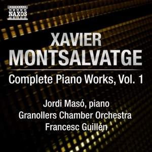 Montsalvatge: Piano Music, Volume 1