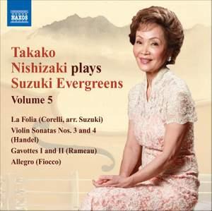 Takako Nishizaki plays Suzuki Evergreens - Volume 5 Product Image