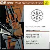 Schumann - Piano Quartet & Piano Quintet (DVD Audio)