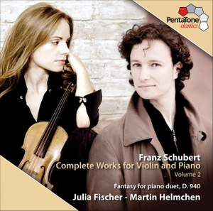 Schubert - Complete Works for Violin and Piano, Volume 2 Product Image