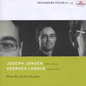 In Flanders Fields Volume 49 - Piano Works by Jongen & Lonque