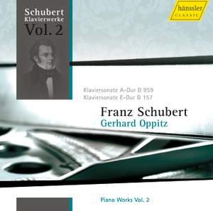Schubert - Piano Works Volume 2
