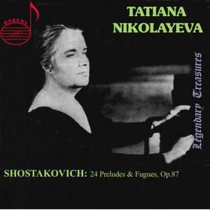Tatiana Nikolayeva Volume 1
