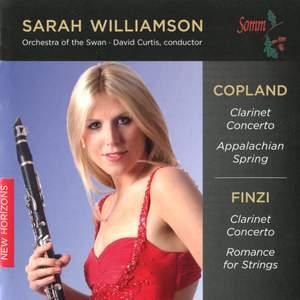 Copland & Finzi - Clarinet Concertos Product Image