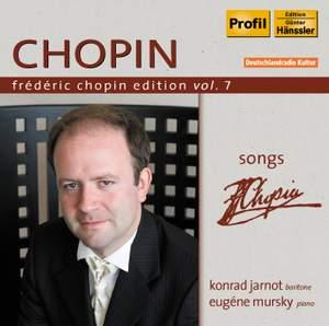 Frédéric Chopin Edition Volume 7 - Songs, Op. 74