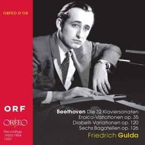 Friedrich Gulda plays Beethoven (1953-7)