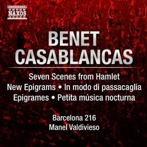 Benet Casablancas: Seven Scenes from Hamlet