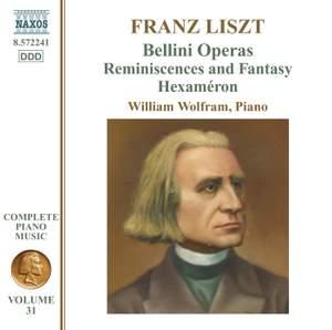 Liszt: Complete Piano Music Volume 31