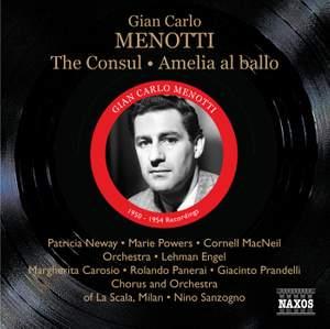 Menotti - The Consul & Amelia al ballo