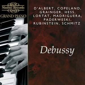 Great Pianists play Debussy Product Image