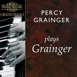 Percy Grainger plays Grainger Product Image