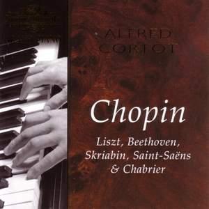Alfred Cortot plays Chopin, Liszt, Beethoven, Skriabin & Saint-Saens Product Image
