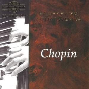 Ignaz Jan Paderewski plays Chopin