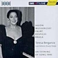 Teresa Berganza - An Evening of Song, 1985