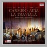 Carmen, Aida & La Traviata